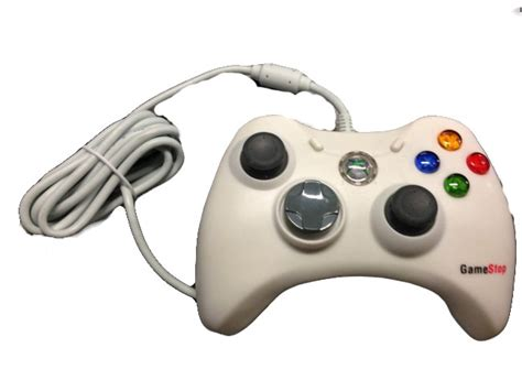 gamestop wired controller  xbox  gamepad bb