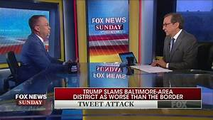 Wallace Presses Mulvaney On Trump's Racist Tweets