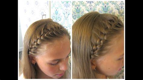 diy french braided headband hairandnailsinspiration
