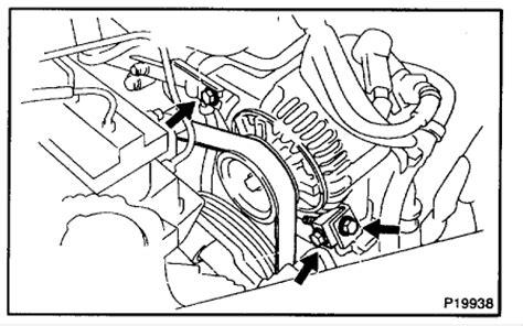 Solved Alternator Belt Replacement Need Diagram