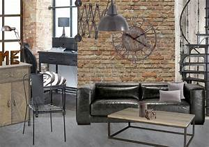 Deco Murale Industrielle : la d coration industrielle chic comment peut on le faire ~ Teatrodelosmanantiales.com Idées de Décoration