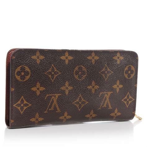 louis vuitton monogram porte monnaie zippy wallet 69691
