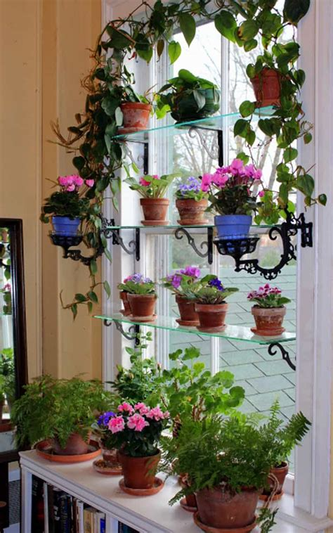 Ideas For Kitchen Plant Shelves by Diy 20 Ideas Of Window Herb Garden For Your Kitchen
