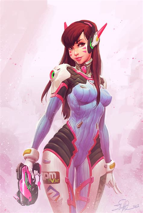is gamers anime good gamers for good d va fanart by norsechowder on deviantart