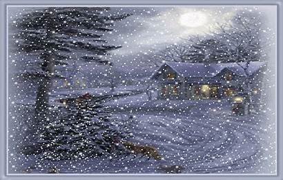 Snow Falling Animated Christmas Moving Blizzard Bucket