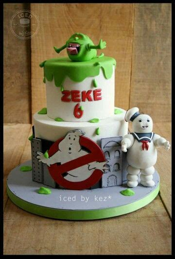 ghostbuster theme cake great cakes