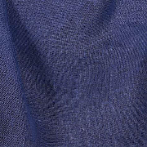 Leinenstoff transparent blau für Gardinen, Vorhänge ...