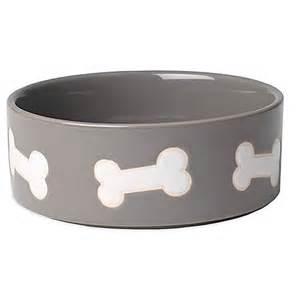 kitchen island ontario petrageous 3 cup harbor bones pet bowl in grey