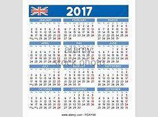 2017 Calendar Uk 2017 calendar template