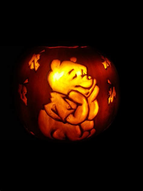 Winnie The Pooh Pumpkin Carving Templates by Winnie The Pooh Pumpkin By Shineydays On Deviantart