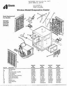 Arvin Arvin Evaporative Cooler Parts