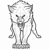 Wolf Coloring Printable Arctic Drawing Draw sketch template