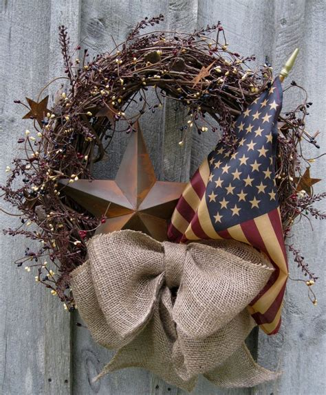 images  wreathspatriotic  pinterest red