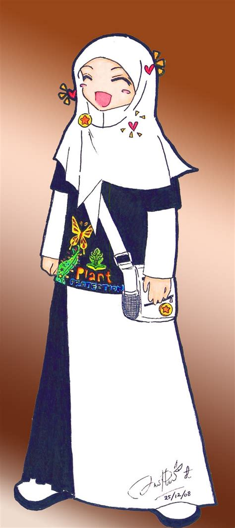 gambar kartun muslimah dokter top gambar