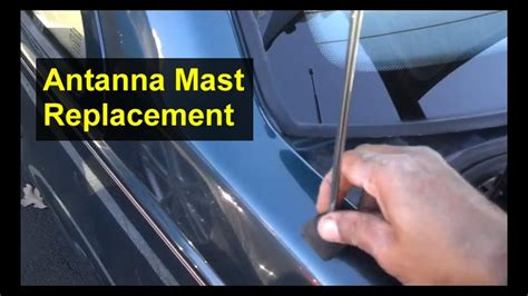 antenna mast replacement volvo     cars