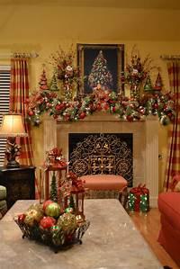 mantel christmas decorations Kristen's Creations: Christmas Tree Lanterns