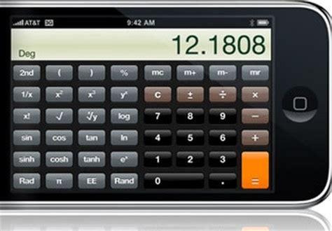 iphone calculator iphone calculator gets scientific in 2 0