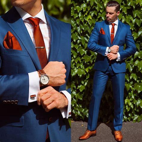 1001 ideen wie blauer anzug braune schuhe und passende accessoires kombiniert werden modern