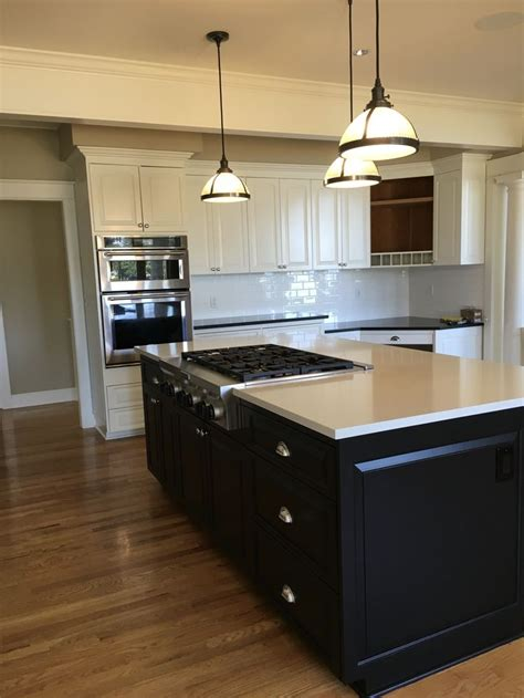 painted kitchen cabinets sherwin williams alabaster