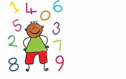 Clipart Learning Math Children Numbers Counting Happy