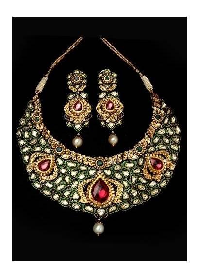 Mughal Jewellery Jewelry Indian Kundan India Heritage