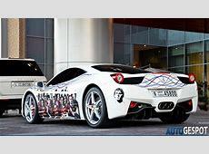 FC Barcelona Ferrari 458 Italia in Dubai autoevolution