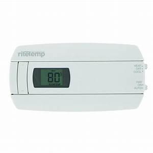 Rite Temp Digital Non-programmable Thermostat-6020