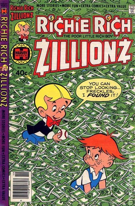 Richie Rich Zillionz (1976) Comic Books 19701979