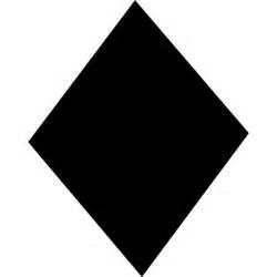 Diamond black shape, IOS 7 interface symbol Icons   Free ...