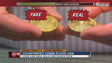 counterfeit gold  silver coins burning buyers wcpo cincinnati