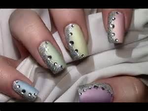 nagellack design pastell mix nageldesign mit nagellack für kurze und lange nägel nail design tutorial