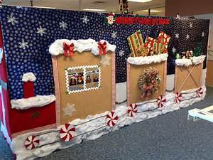 Cubicle christmas decorations crafts