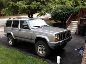 Sell Used 2000 Silver Jeep Cherokee Sport 4x4 Needs A New