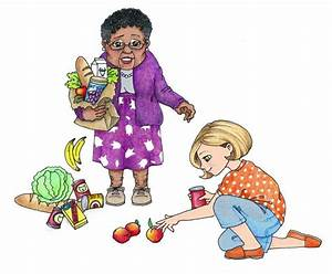 Child Helping Others Clipart (59+)