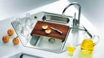 sink bathroom ideas 15 cool corner kitchen sink designs home design lover