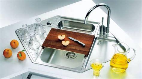 creative corner kitchen sink design ideas