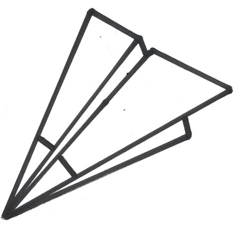paper airplane clipart black and white paper airplane clipart clipartion
