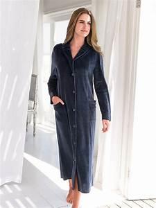 robe de chambre polaire femme francoise sagetpeignoir et With robe de chambre femme grande taille