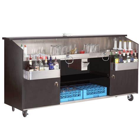 Portable Bar by Advance Tabco R 8 B High Volume Portable Bar With