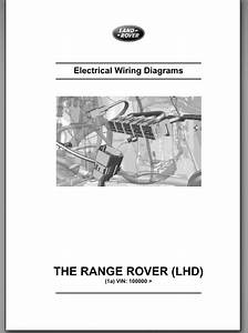 Range Rover L405 2013 Wiring Diagram