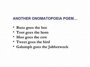 Onomatopoeia Poems for Teenagers