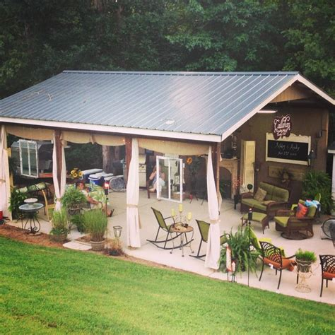 backyard shed backyard shed for gatherings or parties callahan country shed for the home pinterest