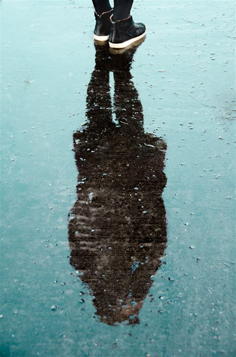 shadow  person  water  daytime  stock photo