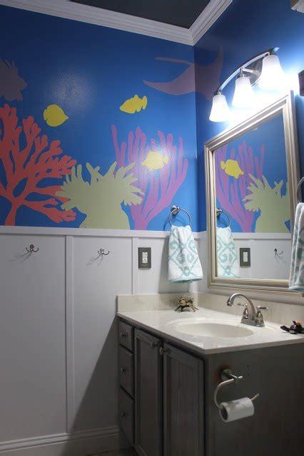 hometalk diy   sea themed kids bathroom