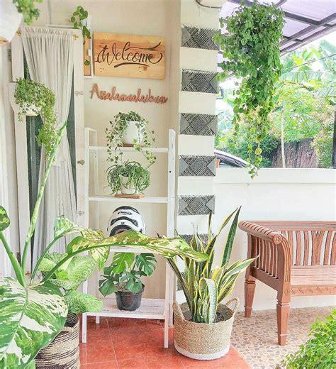 inspirasi rumah ebi dekorasi asri lahan kekinian