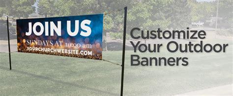 church banners outreach church communication