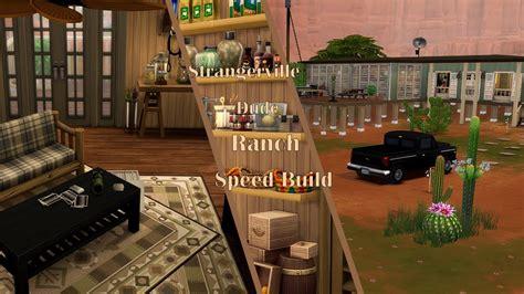 Другие видео об этой игре. Sims 4 Speed Build   Dude Ranch - YouTube