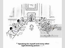 Cartoons und Karikaturen mit Konferenz