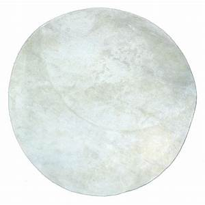 tapis rond poils courts blanc pilepoil pour chambre With tapis rond blanc