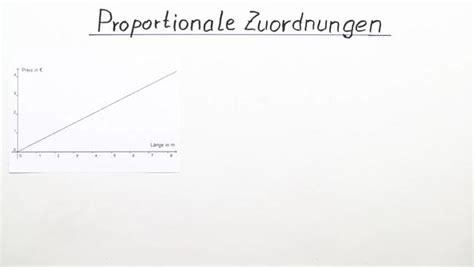 Was heißt es proportional zu sein? sofatutor